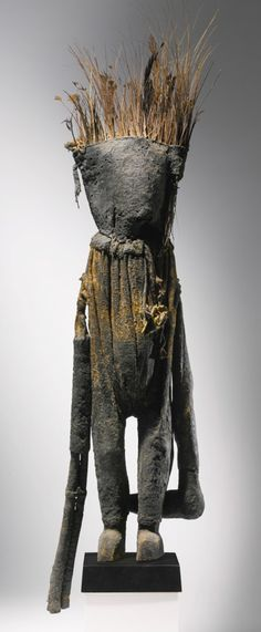 Spectacular Oracle Figure Kafigeledjo. Important and rare tribal art for sale on CuratorsEye.com