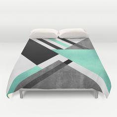Foldings Duvet Cover