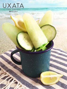 Chef Privado Cancun & Riviera Maya Riviera Maya, Summer Detox, Fresh Basil Leaves, Private Chef, Food Names, Personal Chef, Popsicles, Nutrition, Fruit