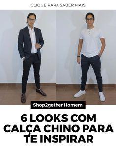 A calça chino é uma peça muito versátil da moda masculina e vai acrescentar muito no seu estilo. Veja algumas inspirações.