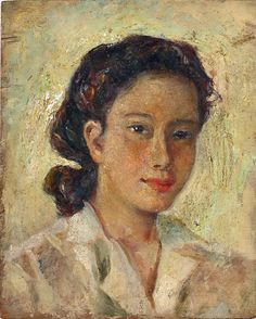 """Anita Magsaysay-Ho the 'female Amorsolo' of Philippine Art. She loved to depict the everyday life of Filipino women. She once said: """" """"In my works, I always celebrate the women of the. Filipino Art, Philippine Art, Filipiniana, Artists Like, Painting & Drawing, Beautiful Pictures, Artsy, Paintings, Female"""
