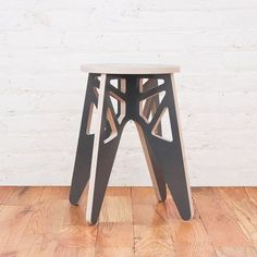 Rocket Large Gray by Isaac Krady Loft Furniture, Modular Furniture, Plywood Furniture, Modern Furniture, Furniture Design, Puzzles 3d, Plywood Chair, Cnc Woodworking, Furniture Inspiration