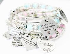 Chubby Chico Charms Bracelet Set Bangle Bracelets Bangles To My Daughter