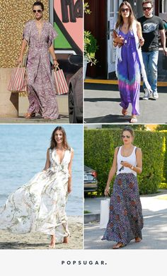 Alessandra Ambrosio Demonstrates How to Wear the Freshest Summer Item: the Maxi