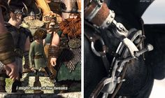 """A few??<--Director Dean Deblois said Hiccup's prosthetic has turned into """"the Swiss Army knife"""" of prosthetics. I'm so excited to find out what he means! Does he keep weapons inside?? His fire sword is super awesome too!"""