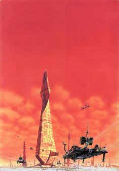 By the great science fiction artist Peter Elson