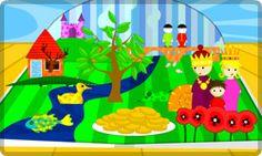 Poisson Rouge . Red Fish Soup . Games for Children . Jeux pour Enfants No written directions, kids just explore.