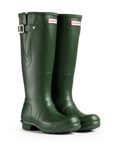 bd48108ab7ef Hunter Tall Rain Green Boots  110 Hunter Adjustable Boots