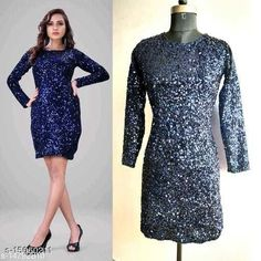 Dresses Fancy Women Sequin Dresses Fabric: Velvet Sizes: XL (Bust Size: 42 in)  L (Bust Size: 40 in)  M (Bust Size: 38 in)  Country of Origin: India Sizes Available: XS, S, M, L, XL, XXL   Catalog Rating: ★4.2 (748)  Catalog Name: Fancy Women Sequin Dresses CatalogID_2999464 C79-SC1025 Code: 995-15060211-4491