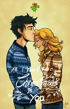 Percabeth edit by @ameliarosekeyes