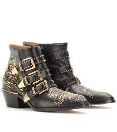 Chloé Susanna Studded Buckle Boots