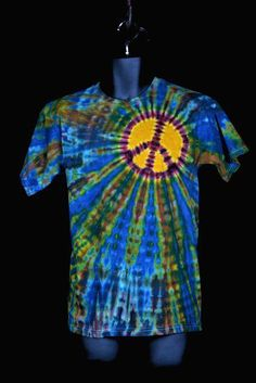 one of the best peace sign Tie Dyes