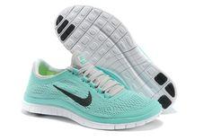 Women Nike Free 3.0 V5 Mint Green