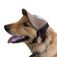 cc562736e91 Dog Hats - Bwogue Dog Baseball Hat Adjustable Outdoor Sports Sun Protection  Hat Cap for Small and Medium Dog     Click image for more details.