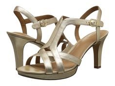 e573f8fd7d81 Clarks Delsie Risa Gold Metallic Leather - Zappos.com Free Shipping BOTH  Ways Clarks Sandals