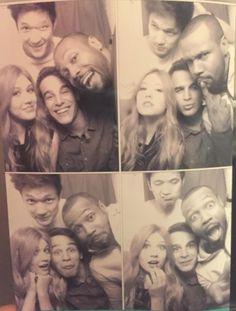A shadowhunter, a werewolf, a vampire and a warlock walk into a Photo Booth #Shadowhunters