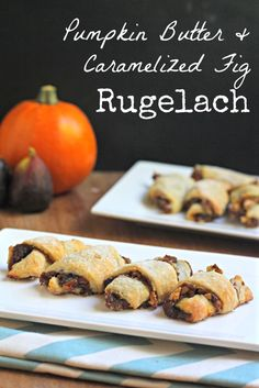 Pumpkin Butter and Caramelized Fig Rugelach for Thanksgivukkah! By What Jew Wanna Eat