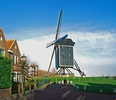 Holland Windmills, Holland Netherlands, Le Moulin, Throughout The World, Wind Turbine, Amsterdam, Rome, Dutch, Sailing