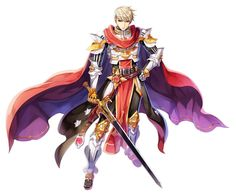 Male Rune Knight New Costume Official Illustration