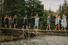 Meagan & Andrew Married | Tayler Carlisle Photography | www.taylercarlisle.com | tayler.carlisle@gamil.com | Wedding Photographer | Wedding Photography | Wedding Day | Breckenridge Wedding | Colorado Mountain Wedding | Mile 10 Station | Boho Bride | Outdoor Wedding | Log Cabin | Breckenridge, Colorado | #meetthefacklers2016 | Details | Wedding Details | Wedding Dress | Bride | Groom | First Look | Portraits | River | Bridge | Couples Portraits | Bridesmaids |