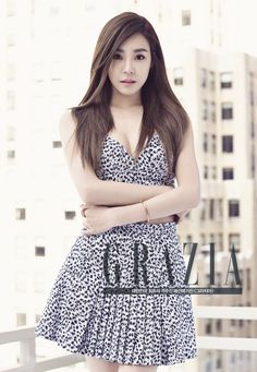 Tiffany Hwang SNSD - Grazia Magazine May Issue 2015