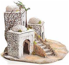 Borgo arabo in resina e sughero presepe: Amazon.it: Casa e cucina Tumbler Stickers, Architectural Sculpture, Mini Fairy Garden, Nativity Crafts, Miniature Houses, Book Nooks, Unique Furniture, Diorama, Wicker