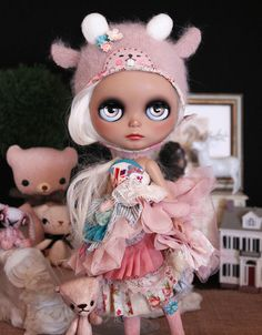 ✿⊱╮b l y t h e ❤Bunny wearing the sweetest helmet from BCNY by ellewoods2007, via Flickr