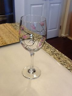 Easy To Paint Santas On Wine Glasses