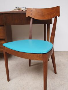 Mid Century Desk and Chair set ELEMENTSofIRONnWOOD