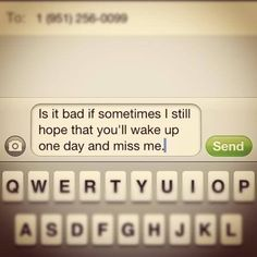 text message...