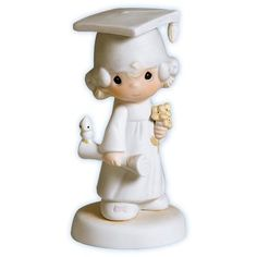 Precious Moments Figurines   Precious Moments - The Lord Bless You And Keep You - Graduation Girl ...