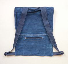 DENIM BACKPACK by COLD BY made in Belgium on CROWDYHOUSE