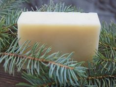 pine home made bar soaps | ... All Natural Spruce Scented Vegan Homemade Soap with Organic Plant OIls