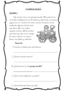 Mini lecturas comprensivas infantil y primaria temática los juguetes -Orientacion Andujar Elementary Spanish, Spanish Classroom, 5th Grades, Learning Spanish, Reading Comprehension, Sheet Music, It Cast, Writing, How To Plan