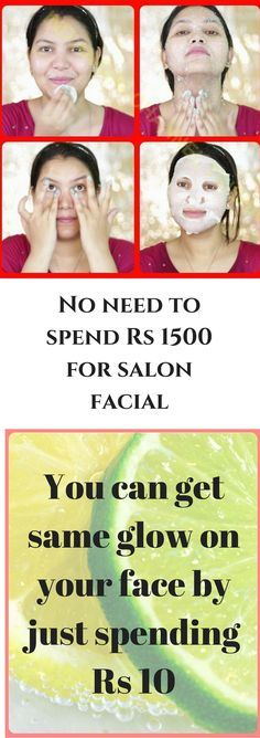 Do lemon facial at home to get salon facial like glow in just 30 minutes