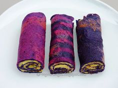 "Gluten-free Purple Cabbage Wraps and how to turn them pink with...lemon. They are a lot of fun to ""paint""."