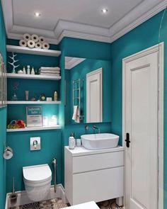 20 компактных ванных комнат