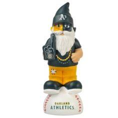 """Oakland Athletics Garden Gnome 11"""" Thematic - BiggSports.com"""