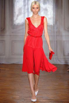 Nina Ricci Spring 2012 Ready-to-Wear Fashion Show - Abbey Lee Kershaw (Next)