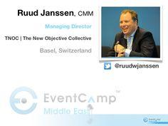 eventcamp-middle-east-ecme12-presentation-ruud-janssen-hybrid-event-process by Ruud Janssen, CMM via Slideshare
