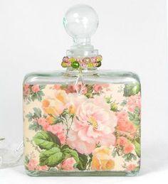 Rose Morning Perfume Bottle Nightlight