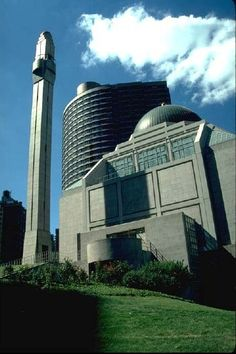 With more Muslims coming to the USA, our country is seeing more mosques built- like this one in New York