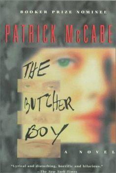 "Francie Brady, the violently Schizophrenic protaganist of ""The Butcher Boy."""