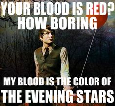 If you cut me I suppose I would bleed, the colors of the evening stars. - The Technicolor Phase