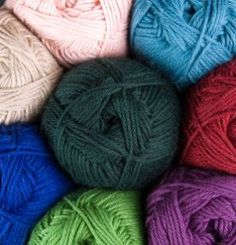 Comfy Fingering Yarn - 75% Pima Cotton, 25% Acrylic Fingering Knitting Yarn, Crochet Yarn and Roving