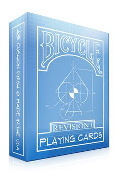 Bicycle Playing Cards Revision 1 by Circle City Card Company