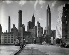 These photos by Berenice Abbott off the How To Be A Retronaut website paint a wonderful portrait of a vibrant, bustling, clean New York City in the mid to late 1930s. The images are courtesy of the New York Public Library.