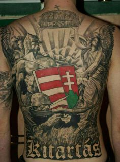 New Tattoos, Cool Tattoos, Tatoos, Awesome Tattoos, Hungarian Tattoo, Coat Of Arms, Arm Tattoo, Make You Smile, Thor