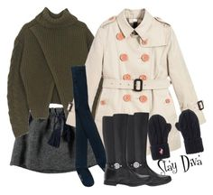 """""""Kids Fashion"""" by staydiva on Polyvore featuring moda y Burberry"""