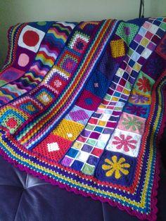 groovy ghan blanket